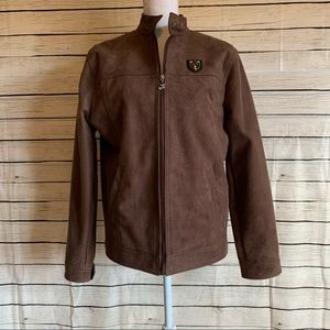 AG Milano Cashmere & Wool Blend Bomber Jacket